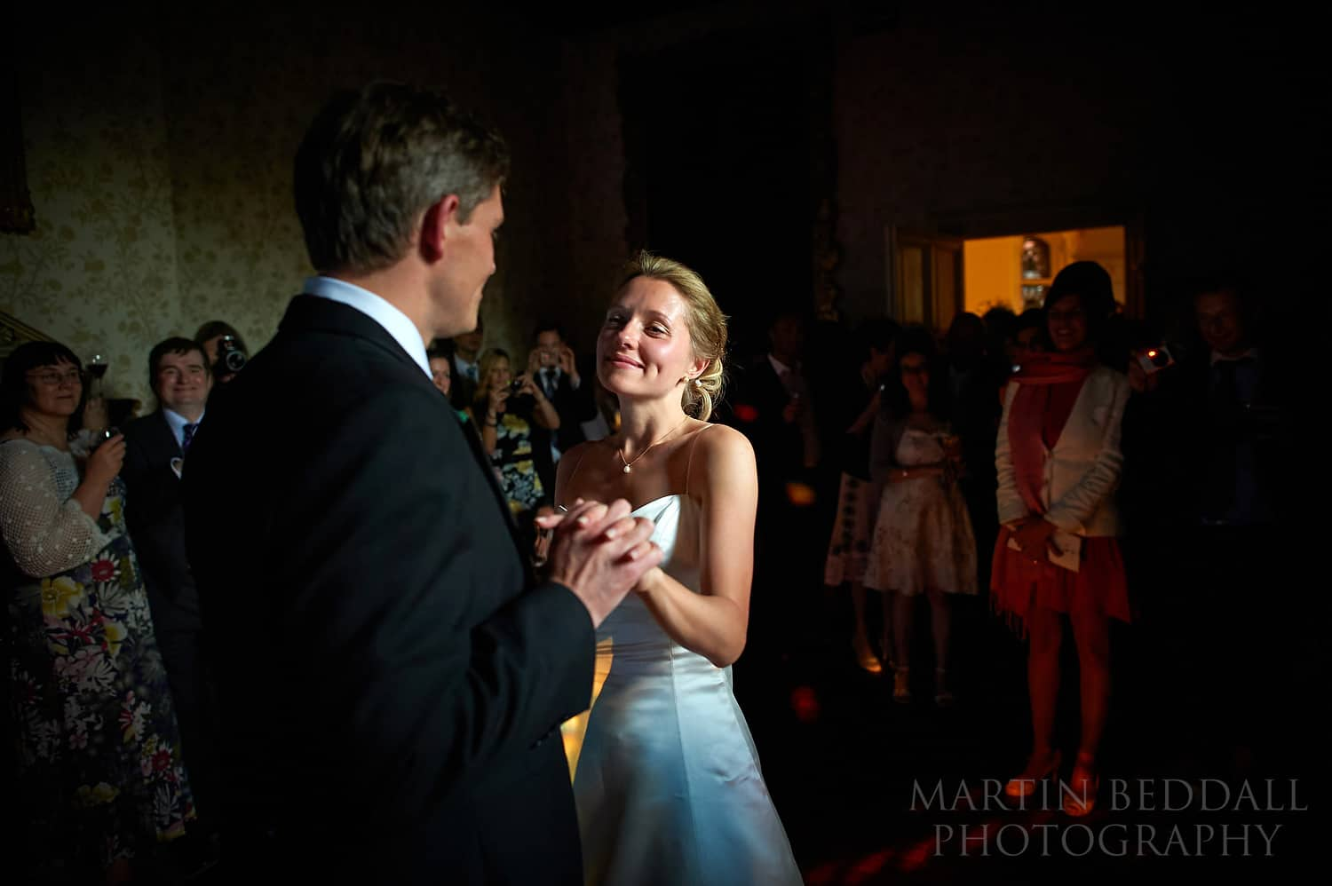 First dance at The Elvetham hotel