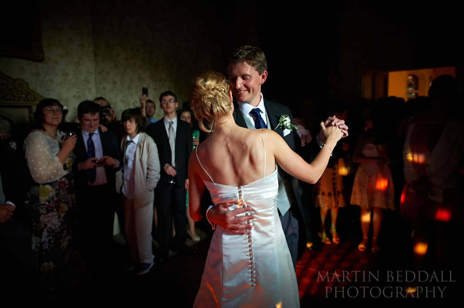 First dance at The Elvetham hotel wedding