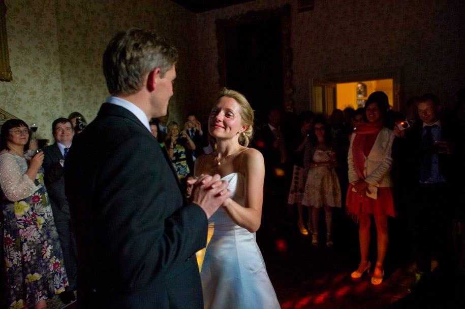 First dance at Elvetham hotel