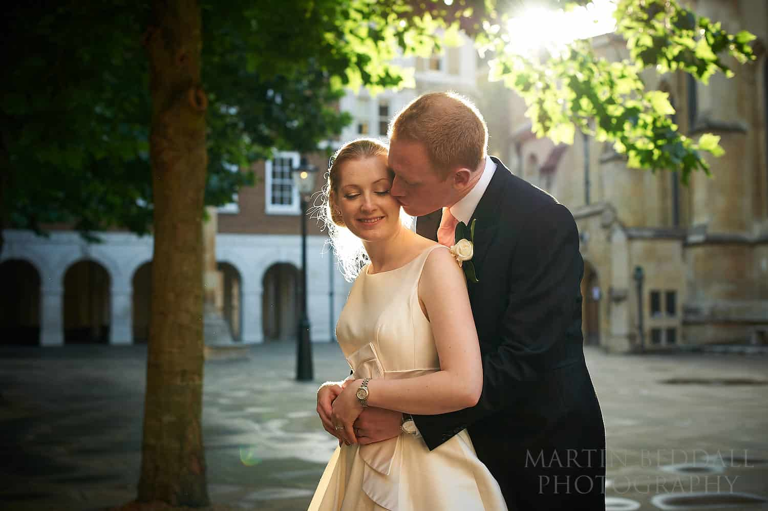 Couple portrait at Inner Temple