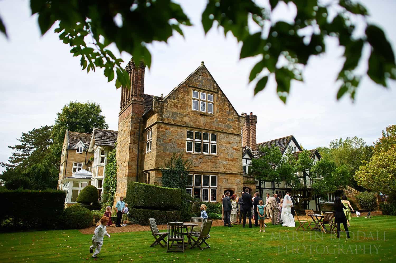 Wedding reception at Ockenden manor