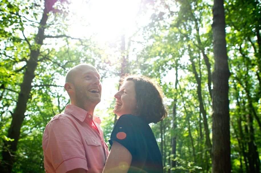 Sussex engagement portrait