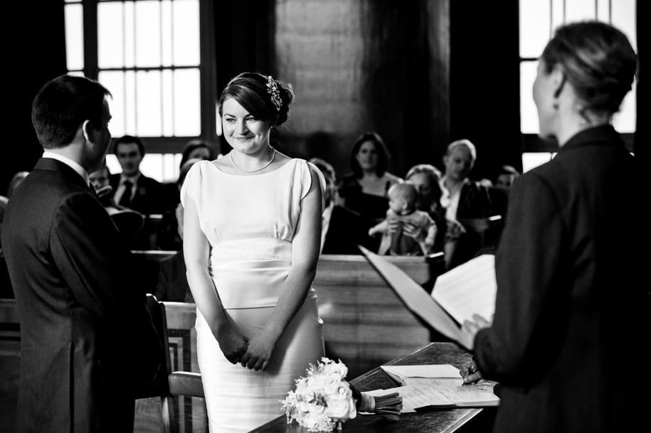 London wedding in hackney Town Hall council chamber