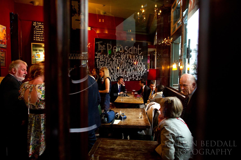 Peasant pub London