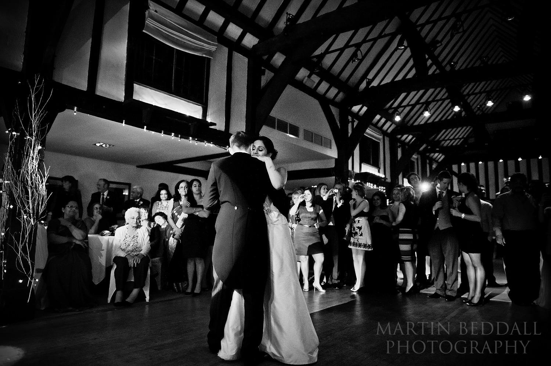 Burford Bridge hotel first dance