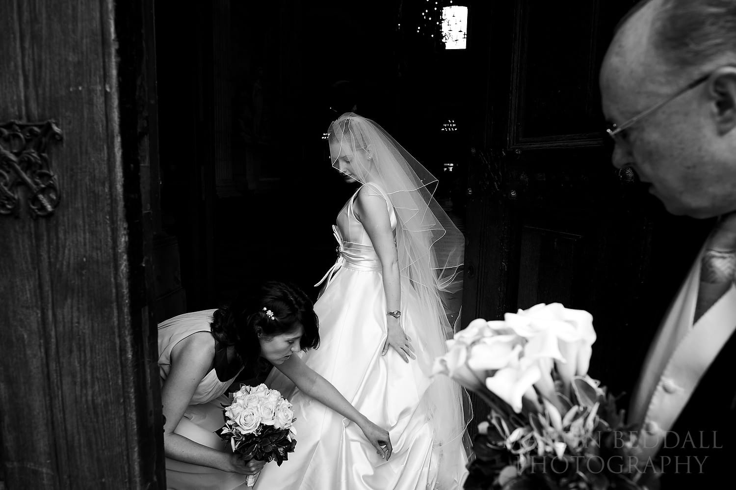 Wedding photography in 2011 at St Paul's Cathedral