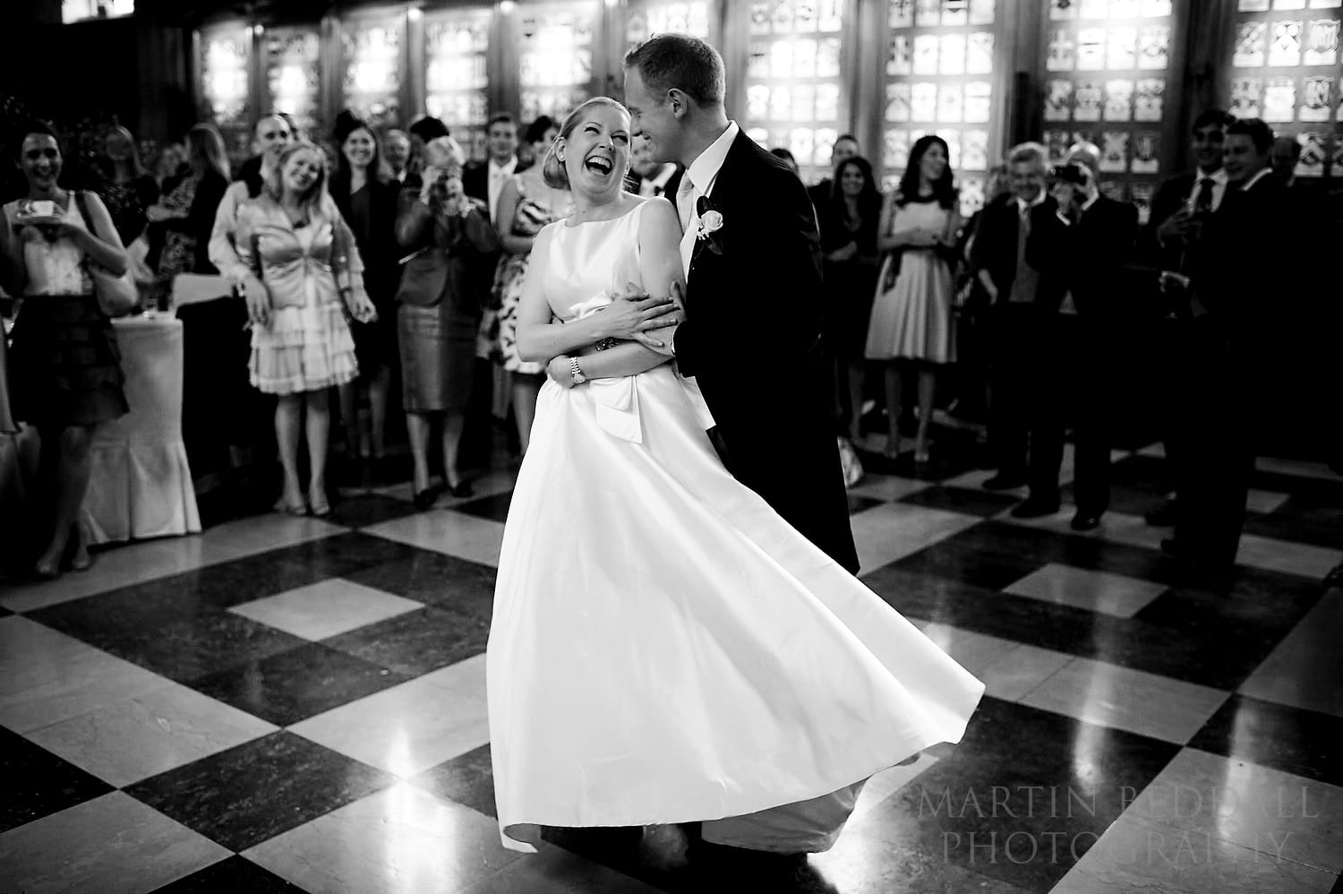 First dance at The Inner Temple Hall