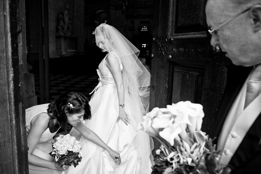 reportage wedding photography at St Paul's Cathedral