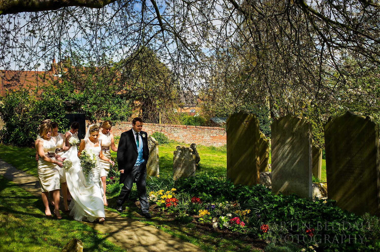 Village church wedding in Kent