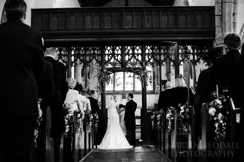 Kent church wedding ceremony