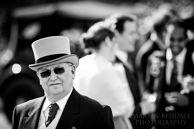 Wedding top hat