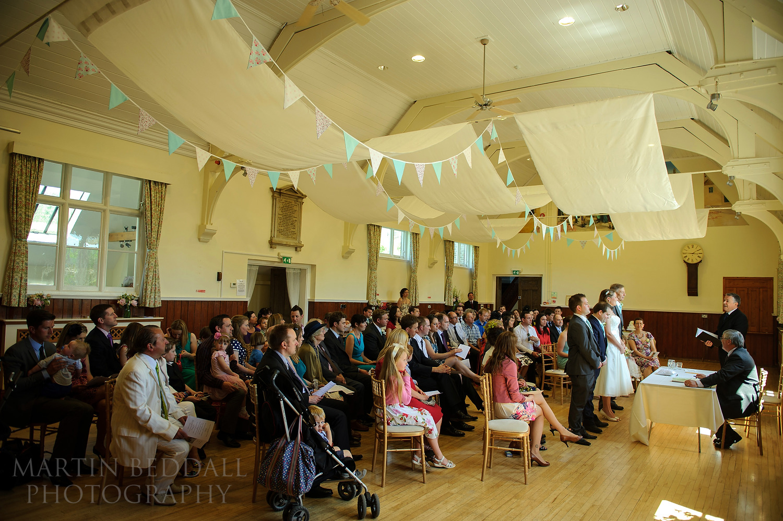 Cuckfield Hall wedding ceremony