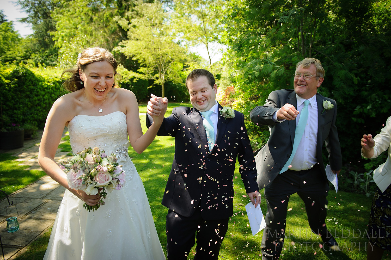 Cuckfield Hall wedding confetti