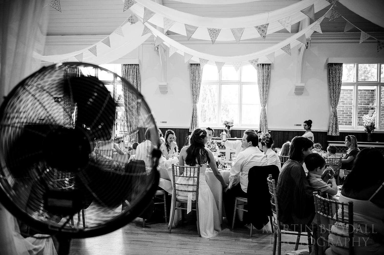 Cuckfield Hall wedding meal
