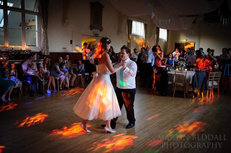 Cuckfield Hall wedding first dance