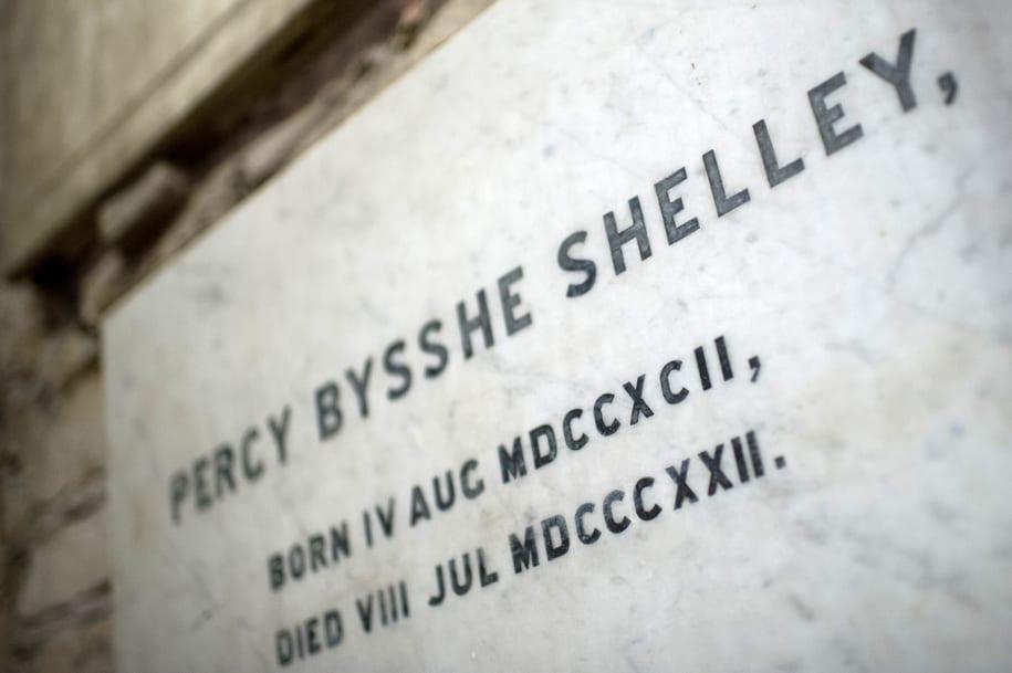 Horsham's famous poet - Shelley