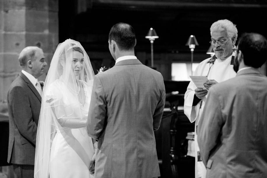 Horsham wedding ceremony at St Mary's