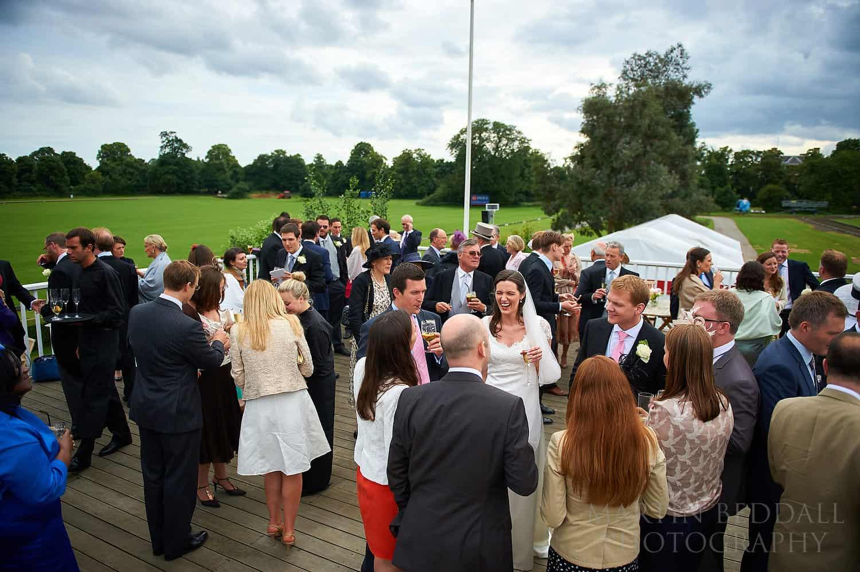Wedding reception at Ham Polo Club