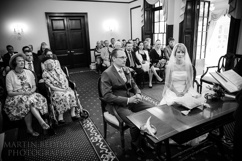 Wedding at Leatherhead Registry Office