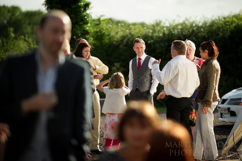 Wedding reception at Old Greens Barn