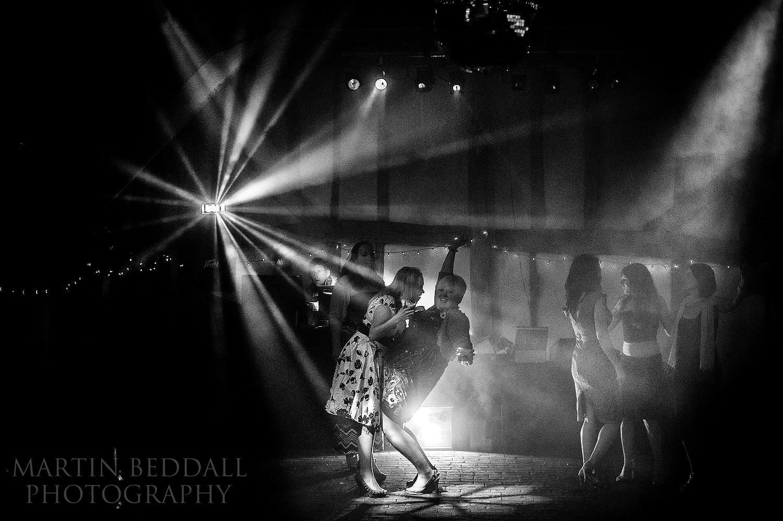Wedding dancing at Old Greens Barn