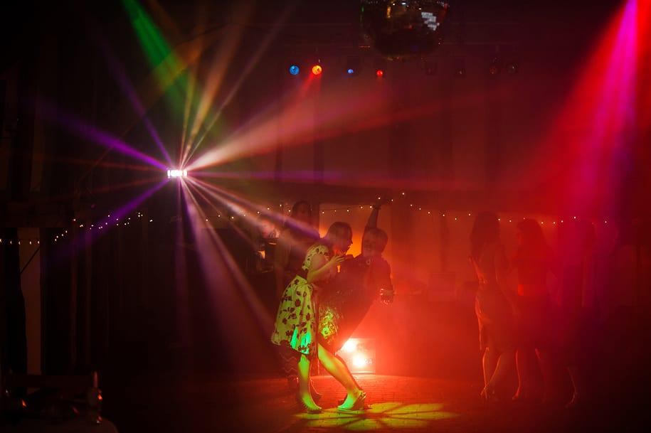 funny dancing at Old greens barn wedding