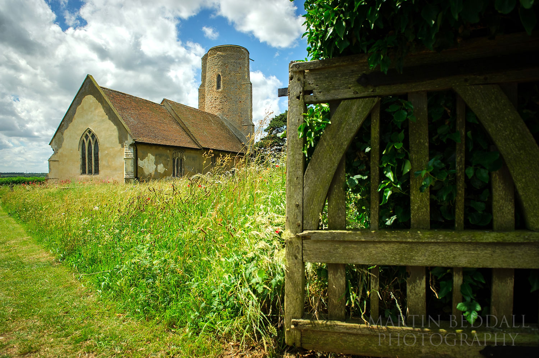Ramsholt All Saints church in Suffolk