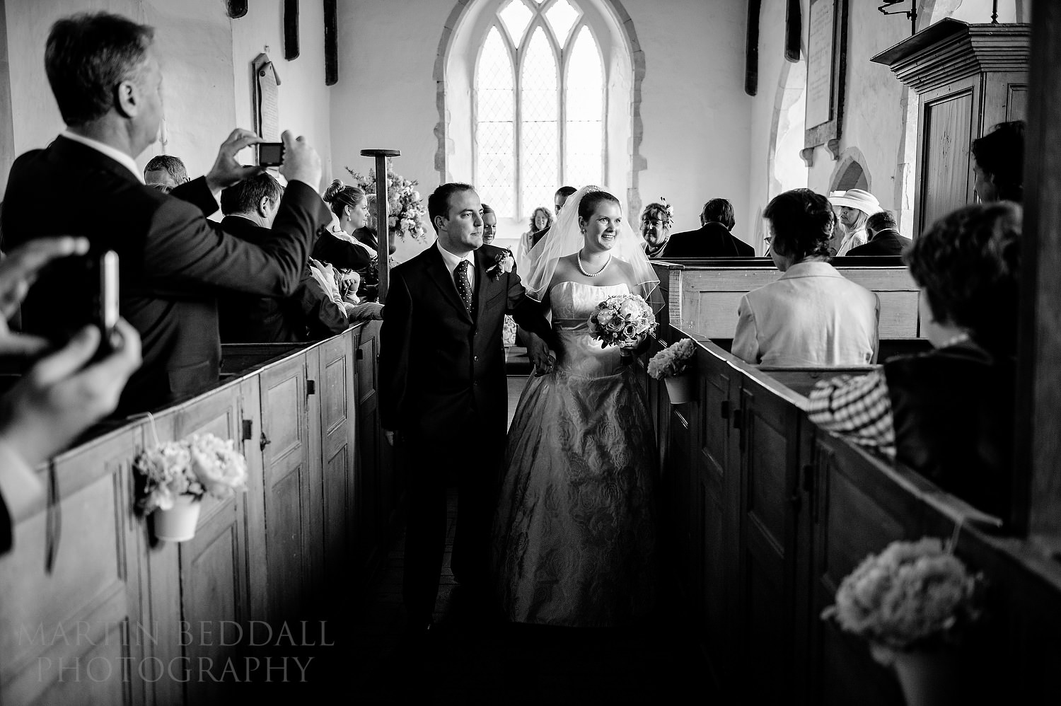 Married at Ramsholt church