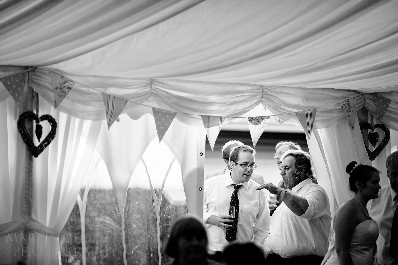 Summer evening at Suffolk wedding
