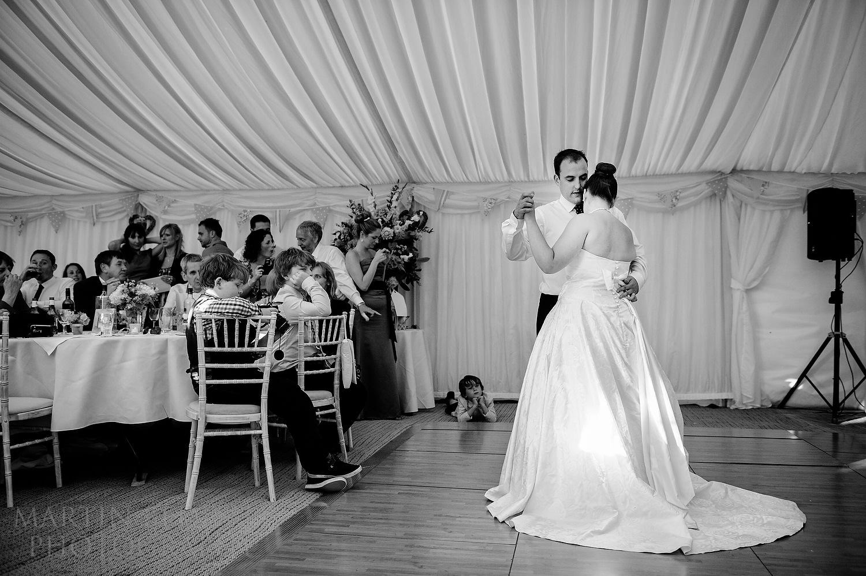 First dance at Suffolk wedding