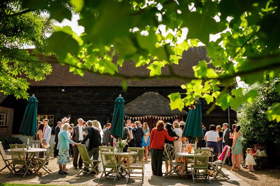 Gate Street Barn wedding reception