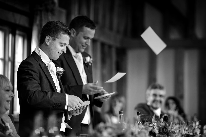 Speech by the best men