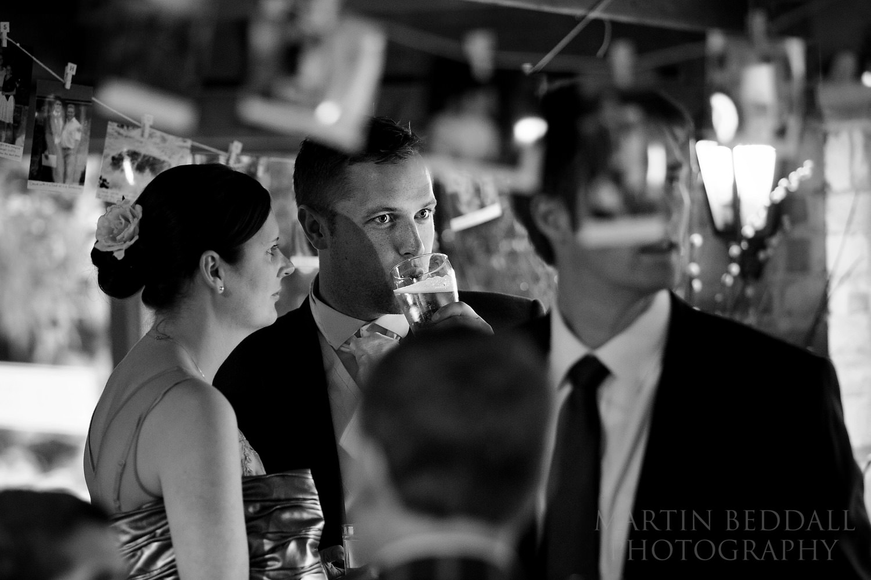 Gate Street Barn wedding evening reception