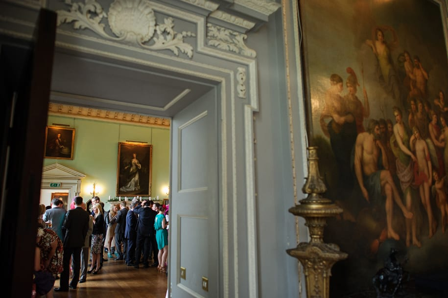 The grandeur of a Kirtlington Park wedding reception