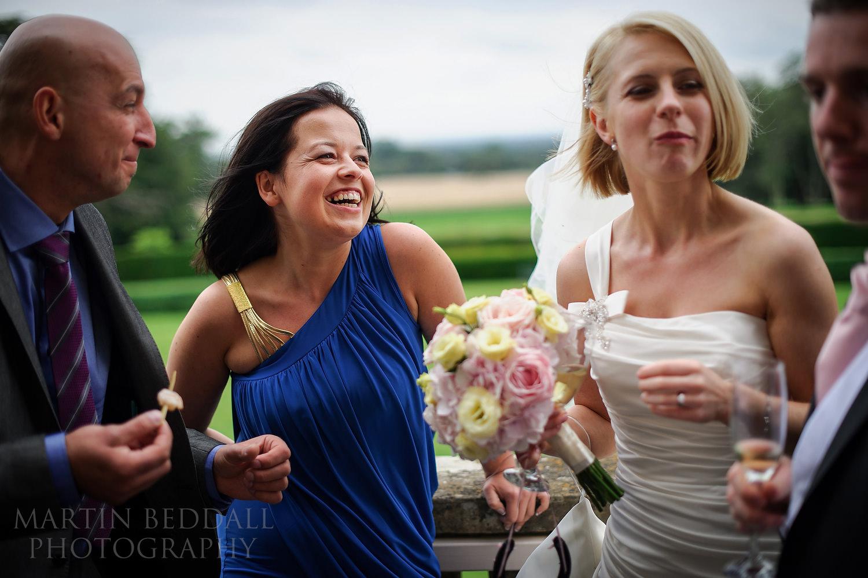 Kirtlington Park wedding guests