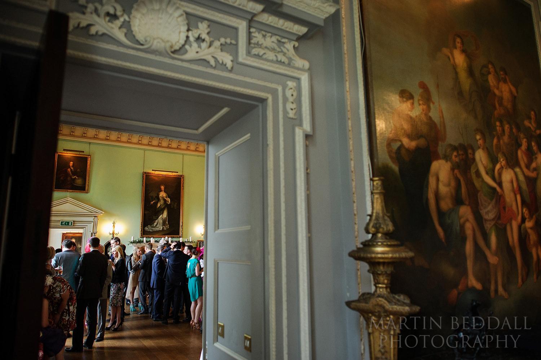 Kirtlington Park wedding reception