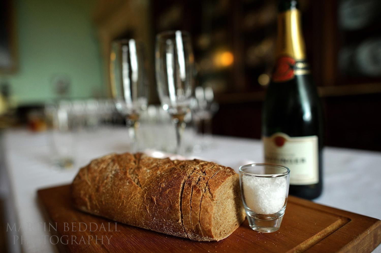 Polish wedding bread and salt