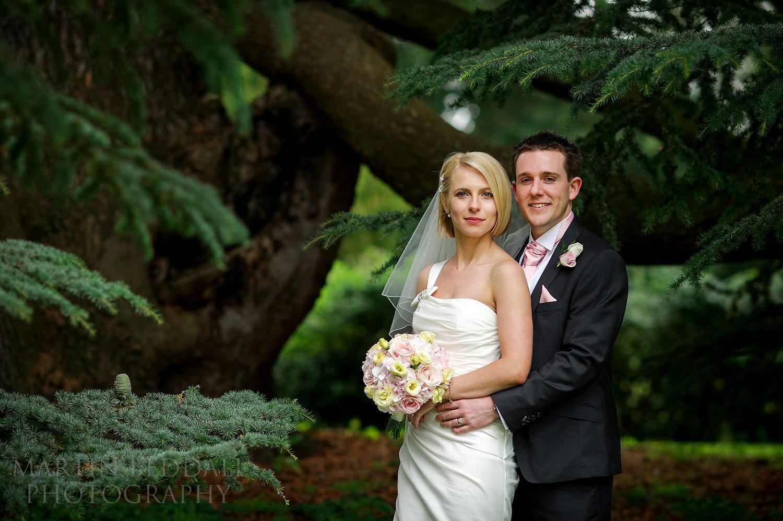 Couple portrait at Kirtlington Park