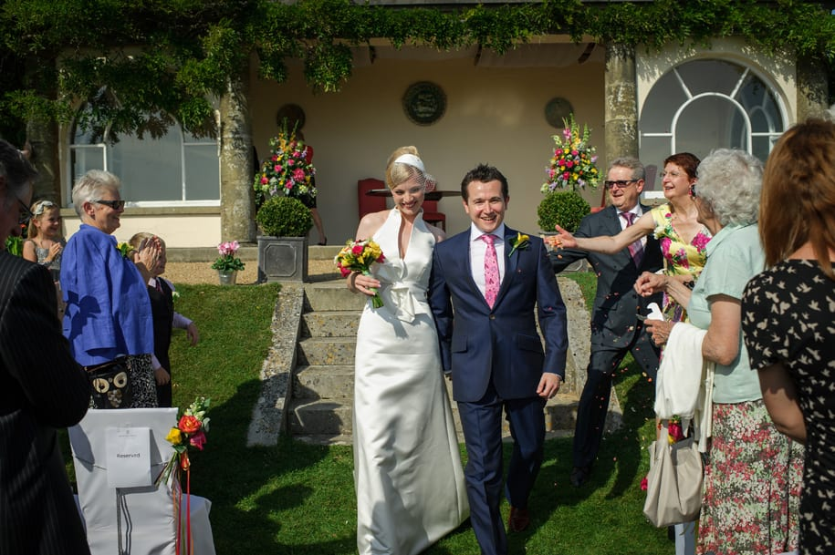 Newick Park wedding confetti