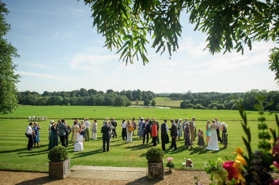 Newick Park wedding reception