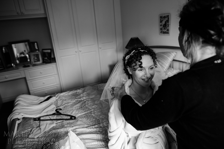 Wedding veil adjustments