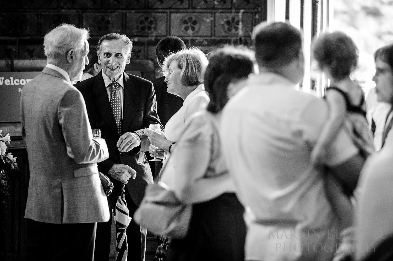 Pershore Abbey wedding reception