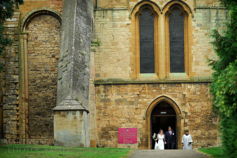 Pershore Abbey wedding