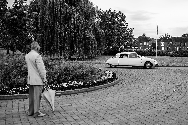 Classic Citreon DS wedding car