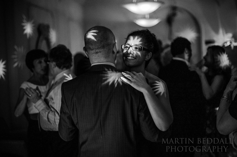 Pershore Abbey wedding dancing