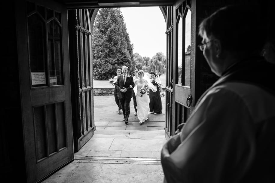 Pershore Abbey wedding