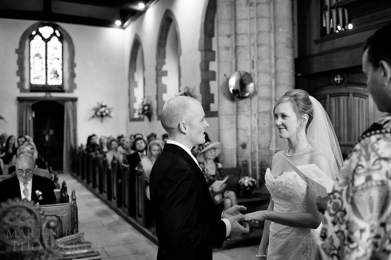 Wedding at Ditchling church