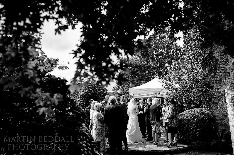 Wedding reception at Ridge Farm