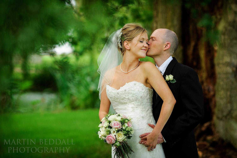 Ridge Farm wedding portrait