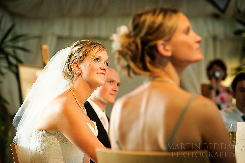 Ridge Farm wedding speeches